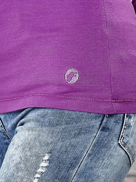 Fioletowa bluzka z guziczkami Funk n Soul                                  zdj.                                  6