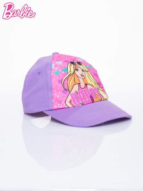 Fioletowa czapka z daszkiem dla dziewczynki BARBIE                              zdj.                              2