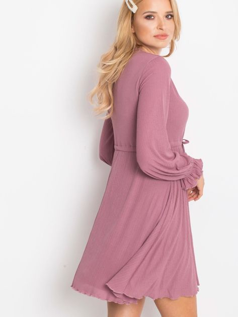 Fioletowa sukienka Forevermore                              zdj.                              2