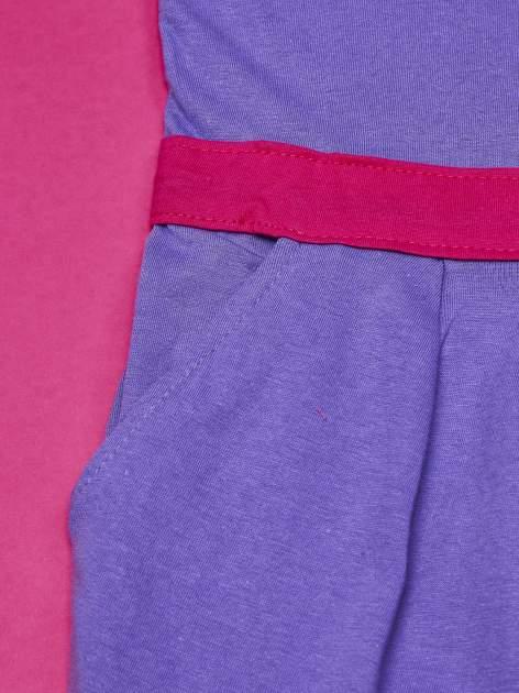 Fioletowa sukienka dla dziewczynki MY LITTLE PONY                              zdj.                              6
