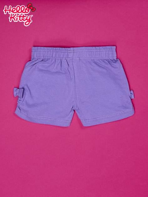 Fioletowe szorty dla dziewczynki HELLO KITTY                                  zdj.                                  2