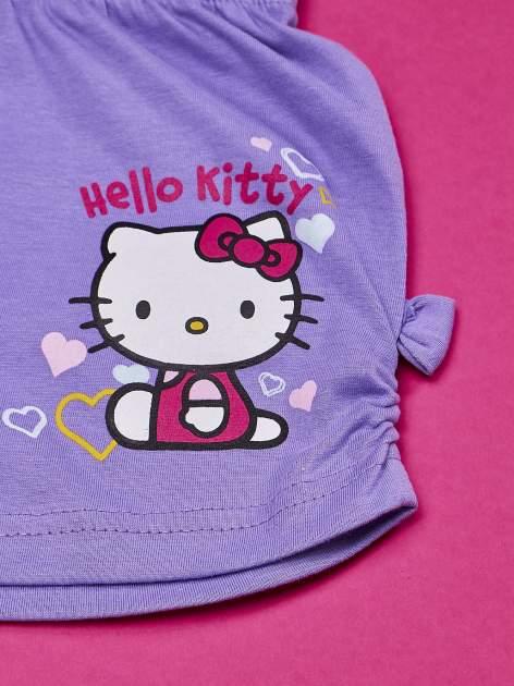 Fioletowe szorty dla dziewczynki HELLO KITTY                                  zdj.                                  3