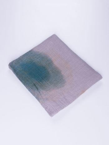 Fioletowo-brązowa chusta z efektem ombre                                  zdj.                                  2