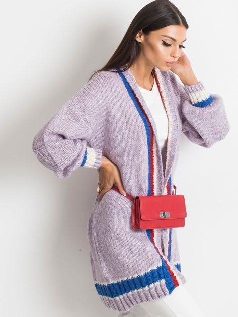 Fioletowy sweter Lavish                              zdj.                              3