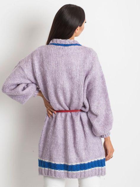 Fioletowy sweter Lavish                              zdj.                              2