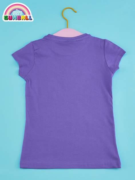 Fioletowy t-shirt chłopięcy GUMBALL                                  zdj.                                  2