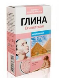Fitocosmetics Glinka różowa egipska 100 g
