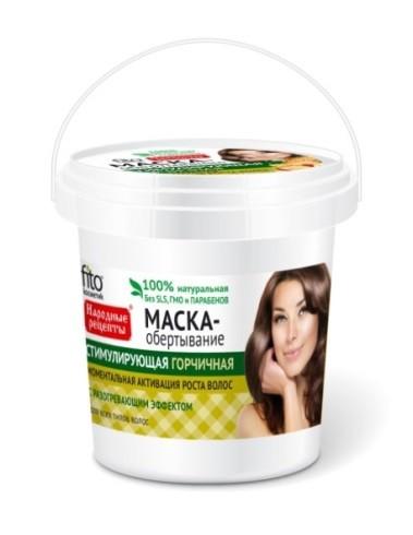 Fitocosmetics Przepisy Ludowe Maska do włosów musztardowa stymulująca 155 ml