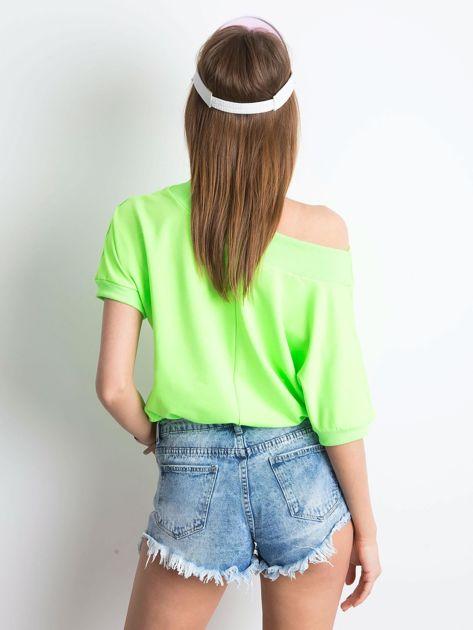 Fluo zielona bluzka Lemontree                              zdj.                              2