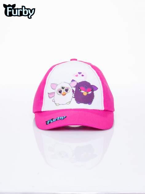Fuksjowa czapka z daszkiem dla dziewczynki FURBY                                  zdj.                                  1