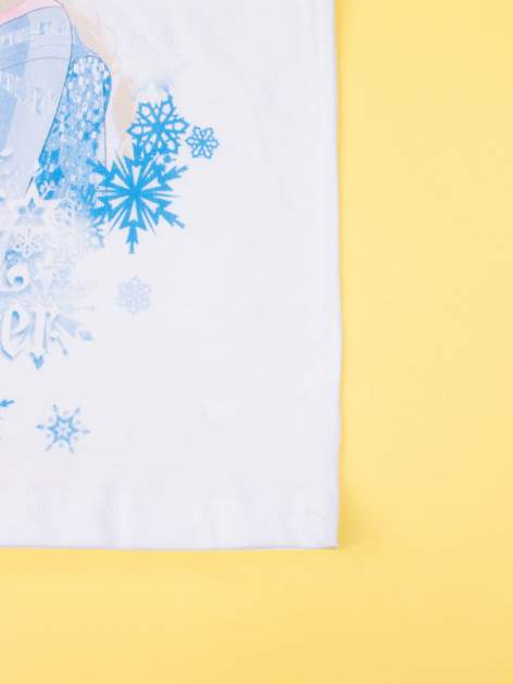 Fuksjowa piżama dla dziewczynki KRAINA LODU                                  zdj.                                  7