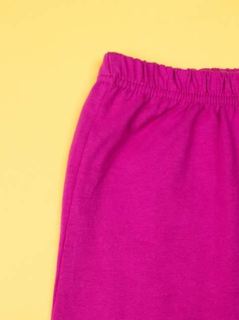 Fuksjowa piżama dla dziewczynki KRAINA LODU                                  zdj.                                  8