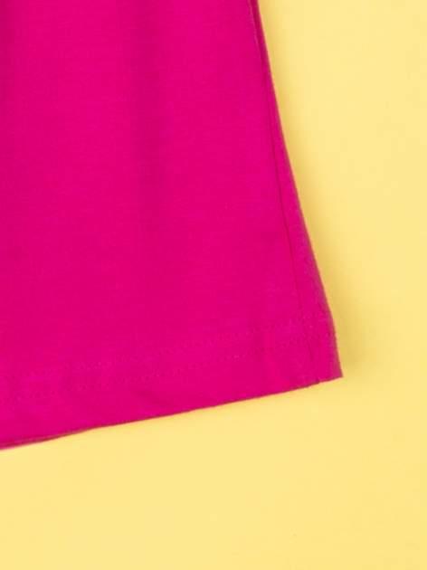 Fuksjowa piżama dla dziewczynki KRAINA LODU                                  zdj.                                  9