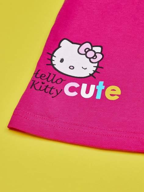 Fuksjowa spódnica dla dziewczynki HELLO KITTY                                  zdj.                                  3
