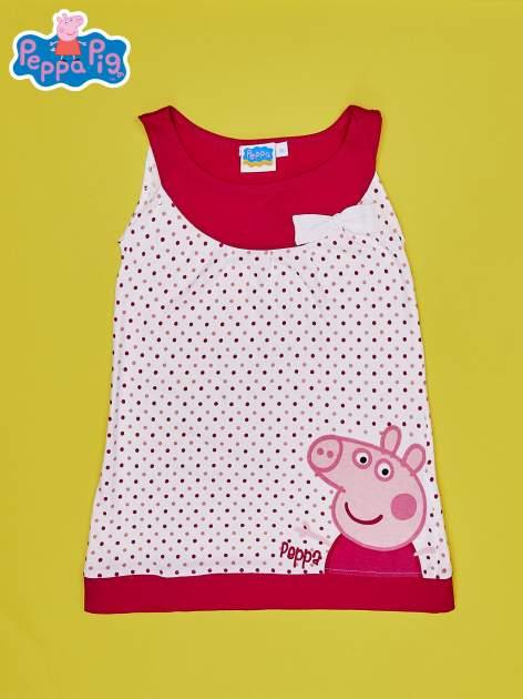 Fuksjowa sukienka dla dziewczynki ŚWINKA PEPPA                                  zdj.                                  1