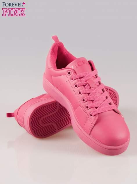 Fuksjowe buty sportowe damskie No Limit                                  zdj.                                  4