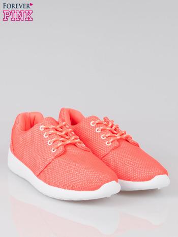 Fuksjowe buty sportowe textile Hurry Up na podeszwie typu flex                                  zdj.                                  2