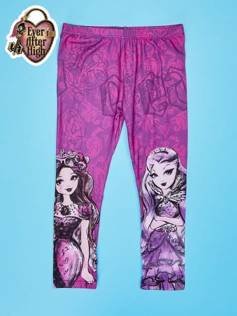 Fuksjowe legginsy dla dziewczynki EVER AFTER HIGH                                  zdj.                                  1