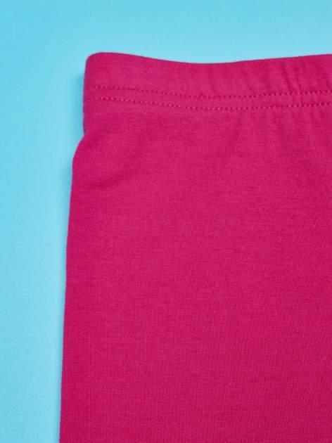 Fuksjowe legginsy dla dziewczynki FURBY                                  zdj.                                  3