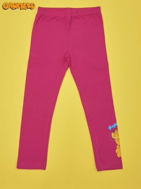 Fuksjowe legginsy dla dziewczynki GARFIELD