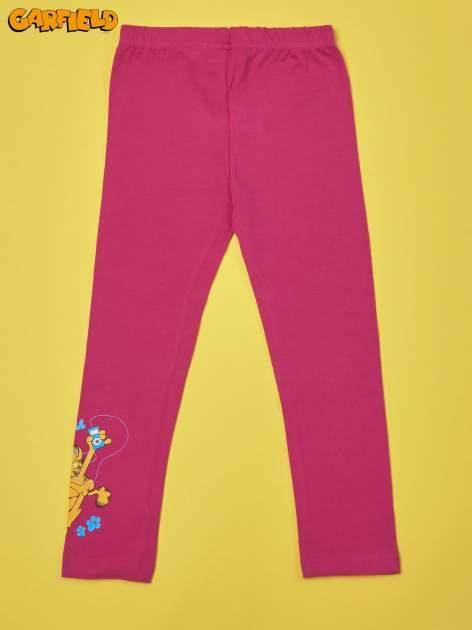 Fuksjowe legginsy dla dziewczynki GARFIELD                                  zdj.                                  2