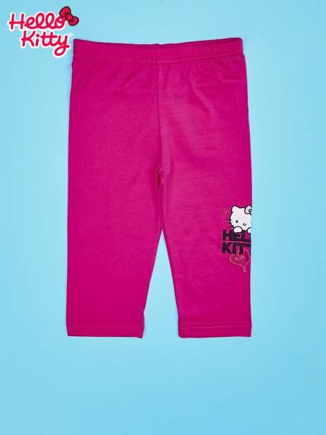 Fuksjowe legginsy dla dziewczynki HELLO KITTY