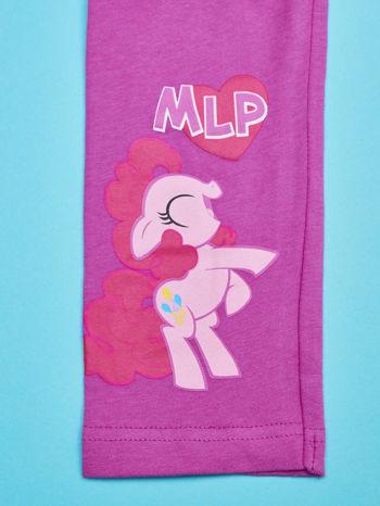 Fuksjowe legginsy dla dziewczynki nadruk MY LITTLE PONY                                  zdj.                                  4