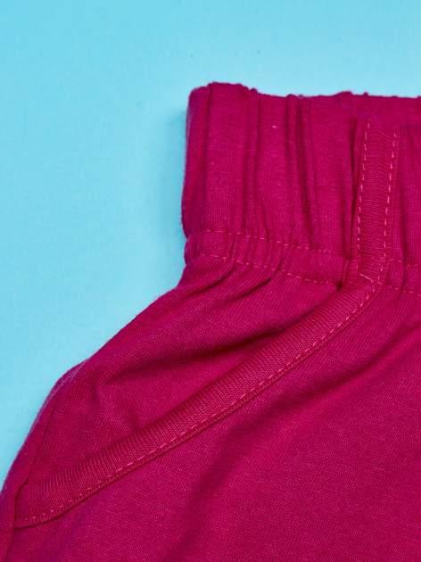 Fuksjowe szorty dla dziewczynki z różowym nadrukiem MY LITTLE PONY                                  zdj.                                  3