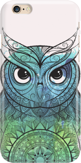 Funny Case ETUI IPHONE 6G OWL