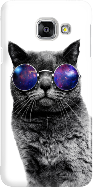 Funny Case ETUI SAMSUNG A3 2016 CAT