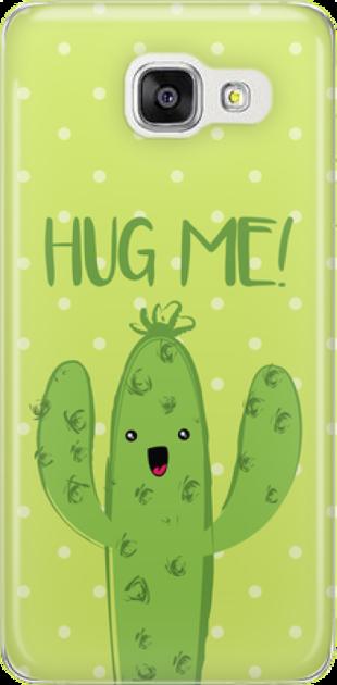 Funny Case ETUI SAMSUNG A5 2016 CACTUS HUG ME