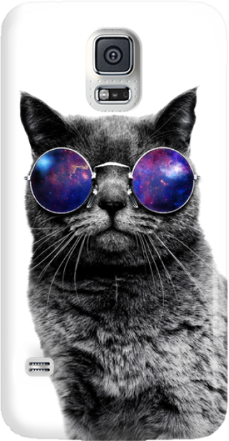 Funny Case ETUI SAMSUNG S5 CAT