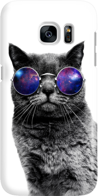 Funny Case ETUI SAMSUNG S7 CAT