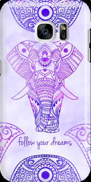 Funny Case ETUI SAMSUNG S7 ELEPHANT