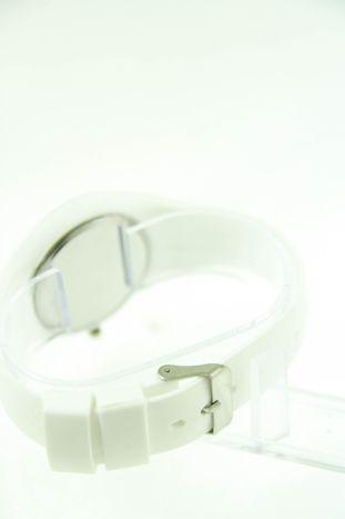 GENEVA Biały zegarek damski na silikonowym pasku                                  zdj.                                  3