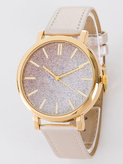 GLITTER OMBRE złoty zegarek damski                               zdj.                              1