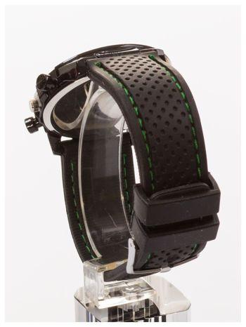GT Czarno-zielony sportowy zegarek męski GRAND TOURING                                  zdj.                                  4