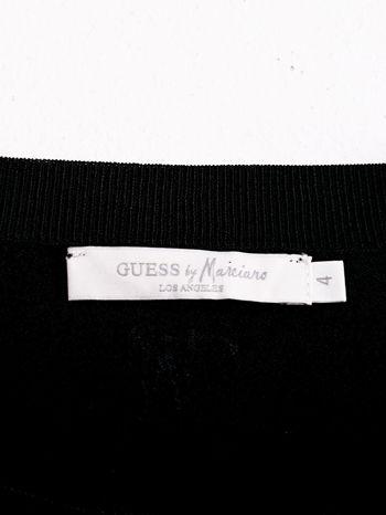 GUESS Czarna krótka bluzka                                  zdj.                                  4