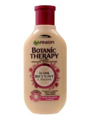 Garnier Botanic Therapy Szampon do włosów osłabionych i łamliwych Olejek Rycynowy i Migdał  250 ml                              zdj.                              1