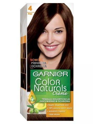 Garnier Color Naturals Krem koloryzujący nr 4 Brąz