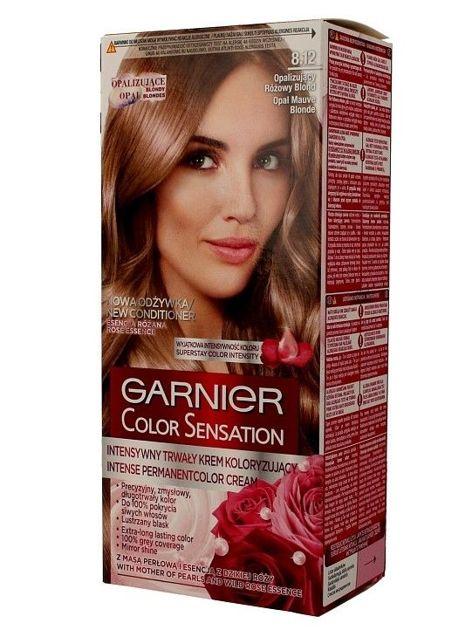 Garnier Color Sensation Krem koloryzujący do włosów 8.21 Opalizujący Różowy Blond