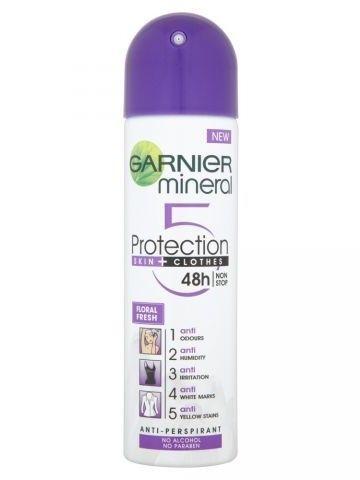 Garnier Mineral Protection 5 Antyperspirant w sprayu Floral Fresh 250 ml