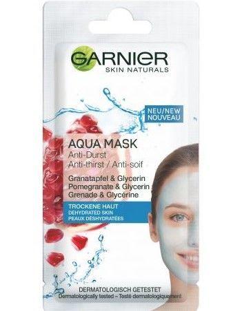 Garnier Skin Active Maska do twarzy z granatem i gliceryną Aqua - cera odwodniona  8 ml