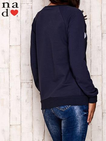 Grafitowa bluza z serduszkami                                  zdj.                                  4