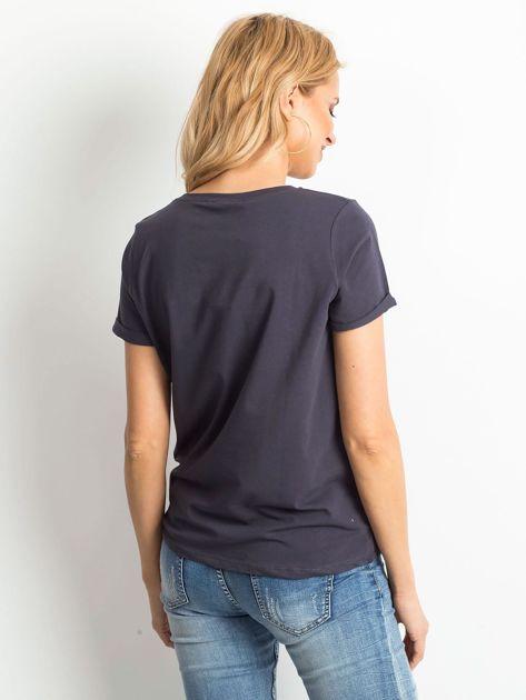 Grafitowy t-shirt Transformative                              zdj.                              2
