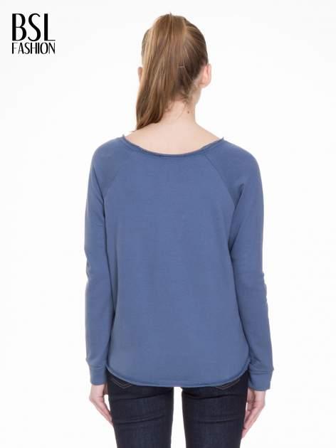 Granatowa bluza z dżetami czaszkami                                  zdj.                                  6