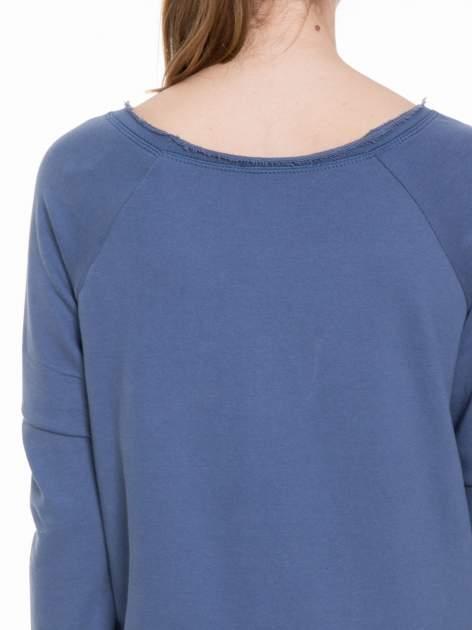 Granatowa bluza z dżetami czaszkami                                  zdj.                                  7
