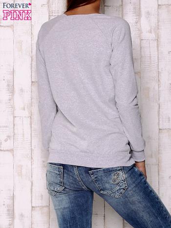 Granatowa bluza z sowami                                  zdj.                                  2