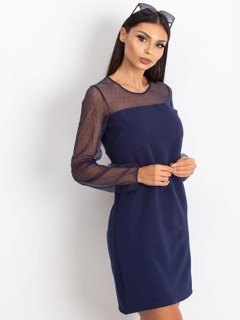 Granatowa sukienka Vanity                              zdj.                              1