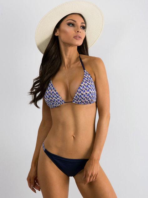 Granatowe bikini Acting